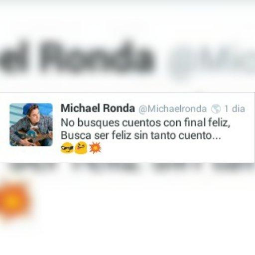 Frases Michael Ronda On Twitter Unas Das Frases Belas Del
