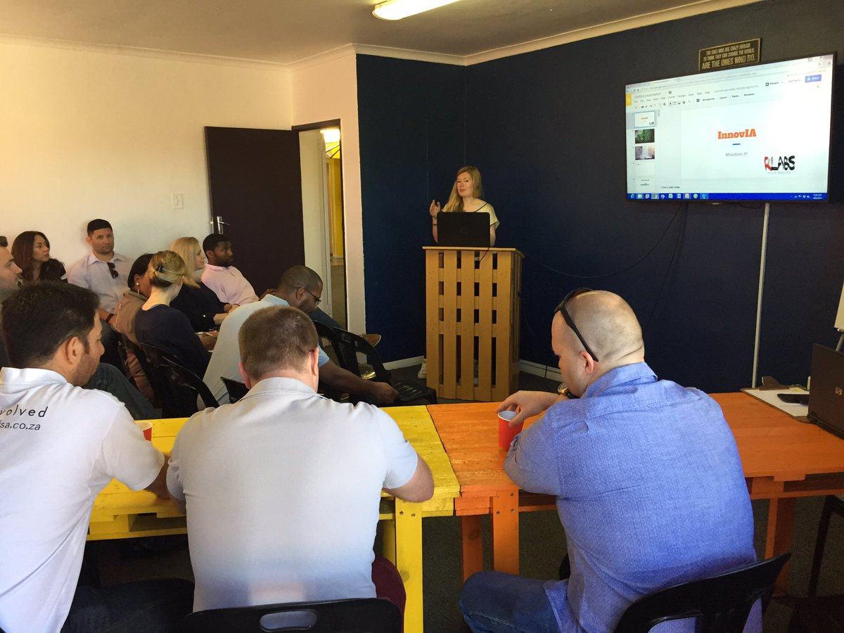 So excited to have our startups sharing their @RLabs #InnovIA journey cc @SiliconCape https://t.co/8UgEYPZto5