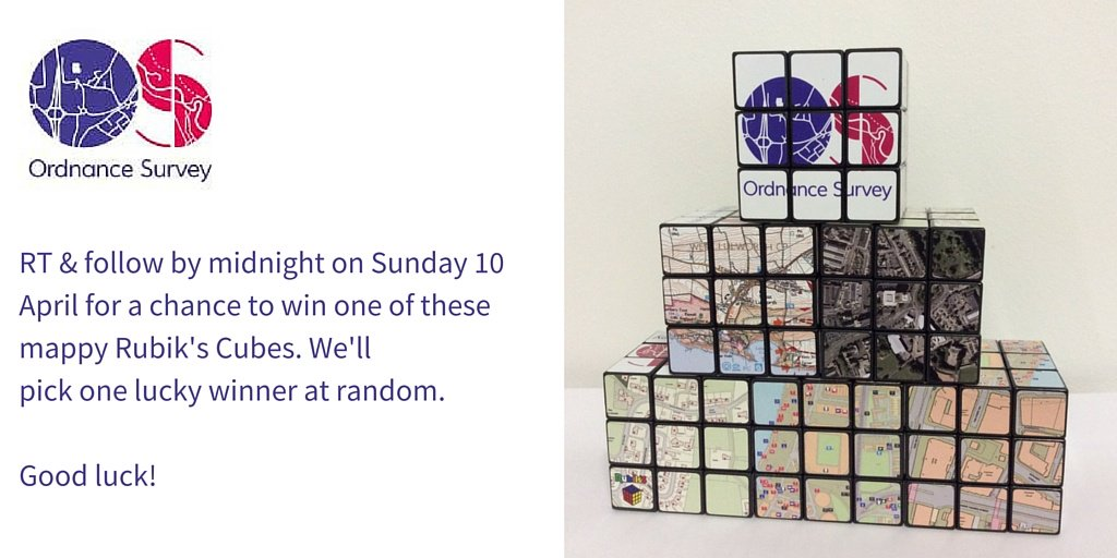 #FreebieFriday time. Remember the #map Rubik's Cube? We found another one for today's #competition - good luck! https://t.co/nL2c6uyHxb