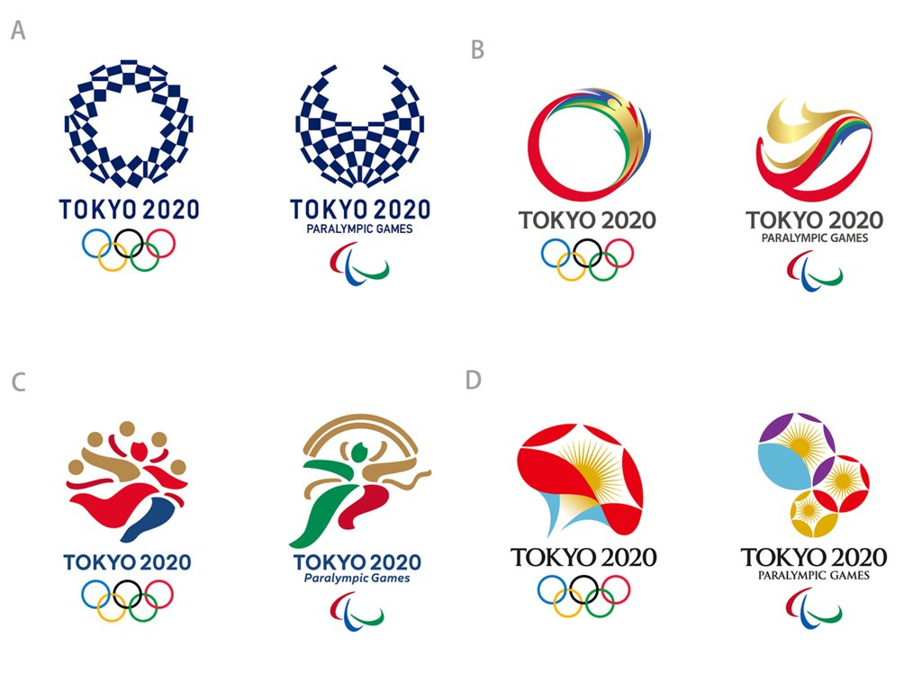 東京オリンピックエンブレム案