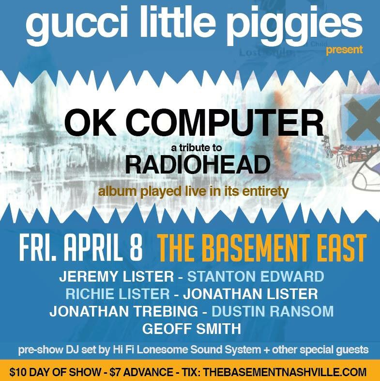 """Come out and be """"fitter, happier more productive"""" #radiohead #okcomputer https://t.co/sxjU9Wwo5W"""