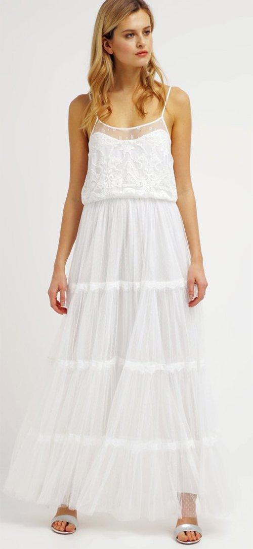 8ab0710ceca Robe longue blanche été robes noires longues
