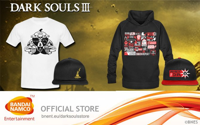 Bandai Namco Teases Big News For Dark Souls Fans, Then Announces Clothing Line