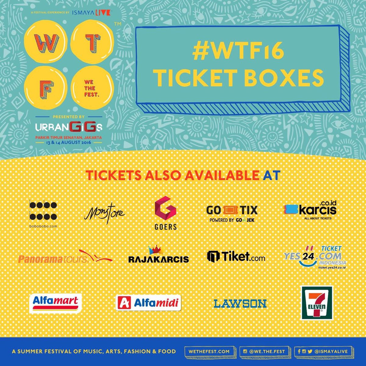 We The Fest on Twitter: Now! Its time to buy your #WTF16