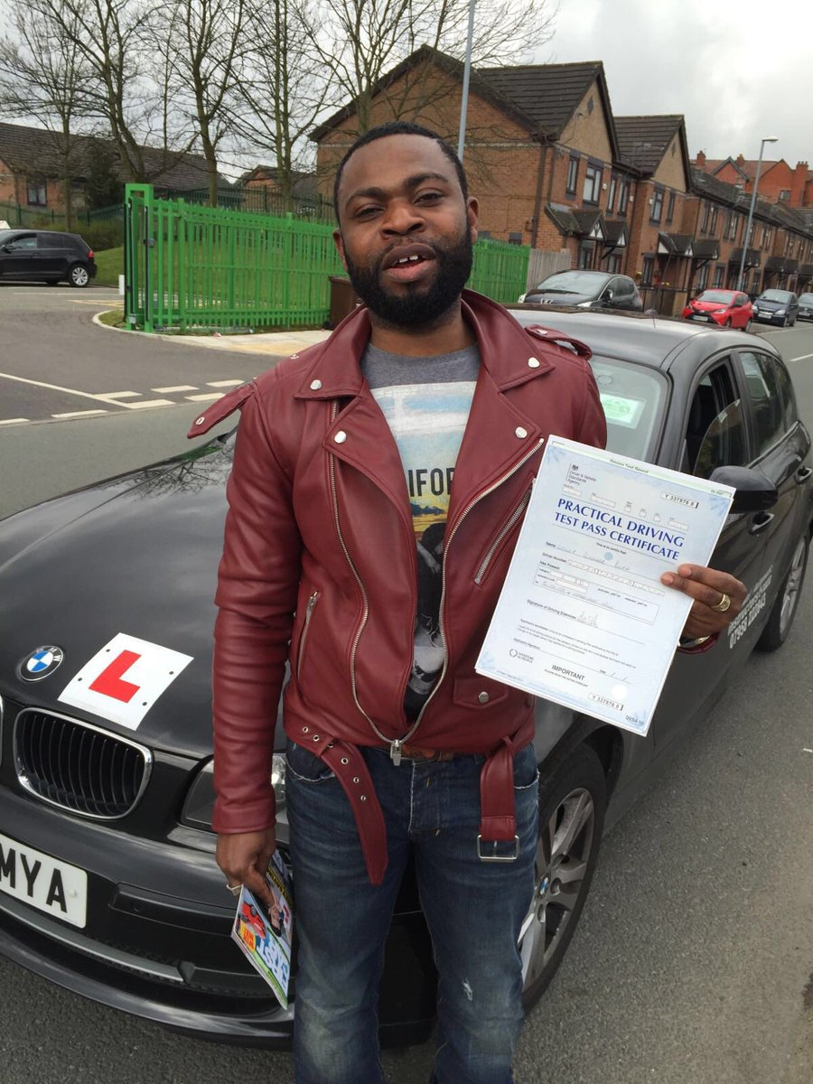 Congratulations Lesley passed today #cheethamhilldrivingtestcentre #automaticdrivinglesson.com
