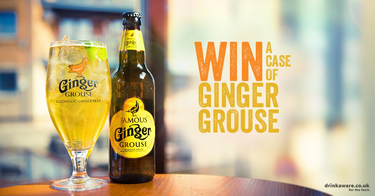 You made it. The weekend's here... tweet us with what you're up to and you could win a case of Famous Ginger Grouse! https://t.co/mMI2rA1Ko7