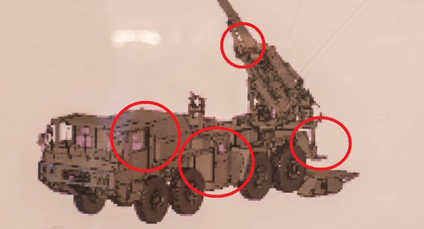 装輪155mm榴弾砲(でっちあげ) - ...