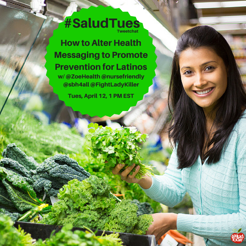 #Health messaging should be clear for all intended audiences. Join the #SaludTues #Tweetchat on 4/12 at 1pmET https://t.co/4u86LrBBY6