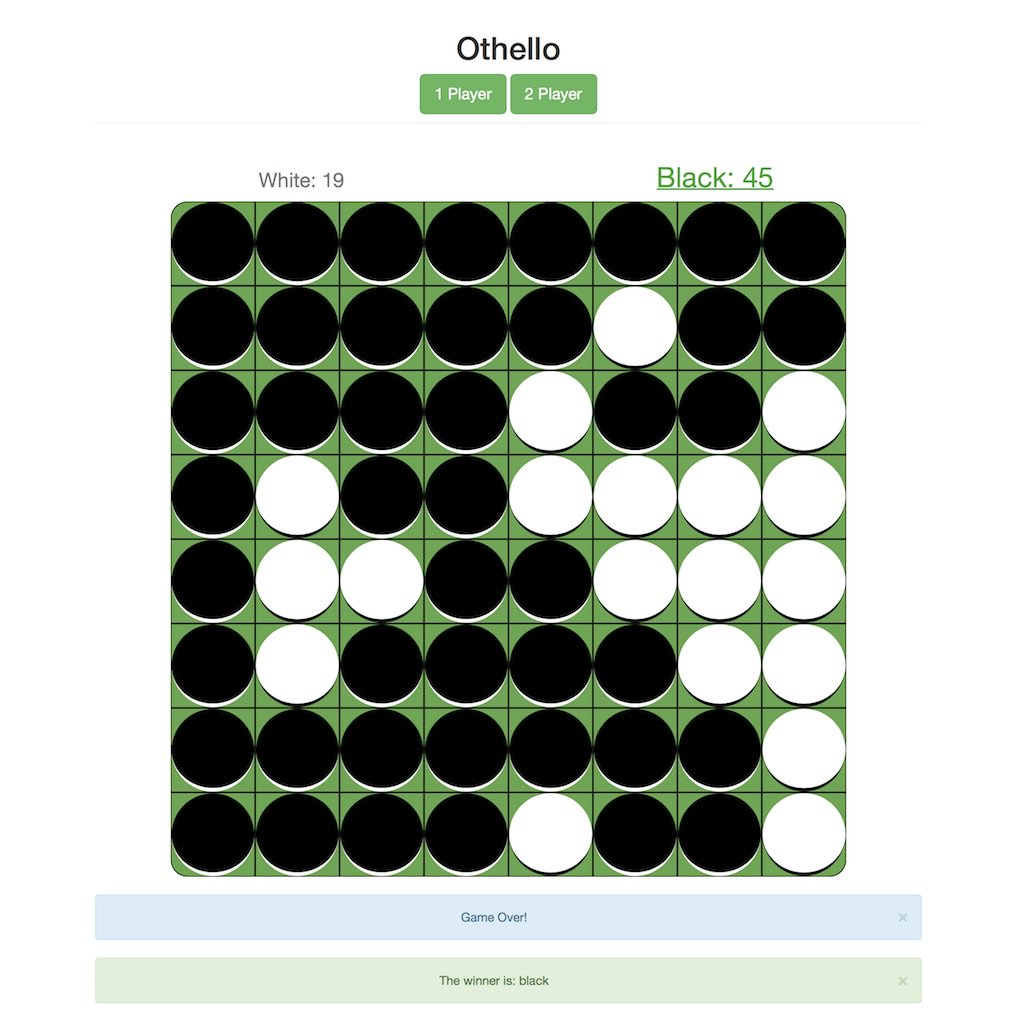 Bideo Wego – Othello Game with AngularJS