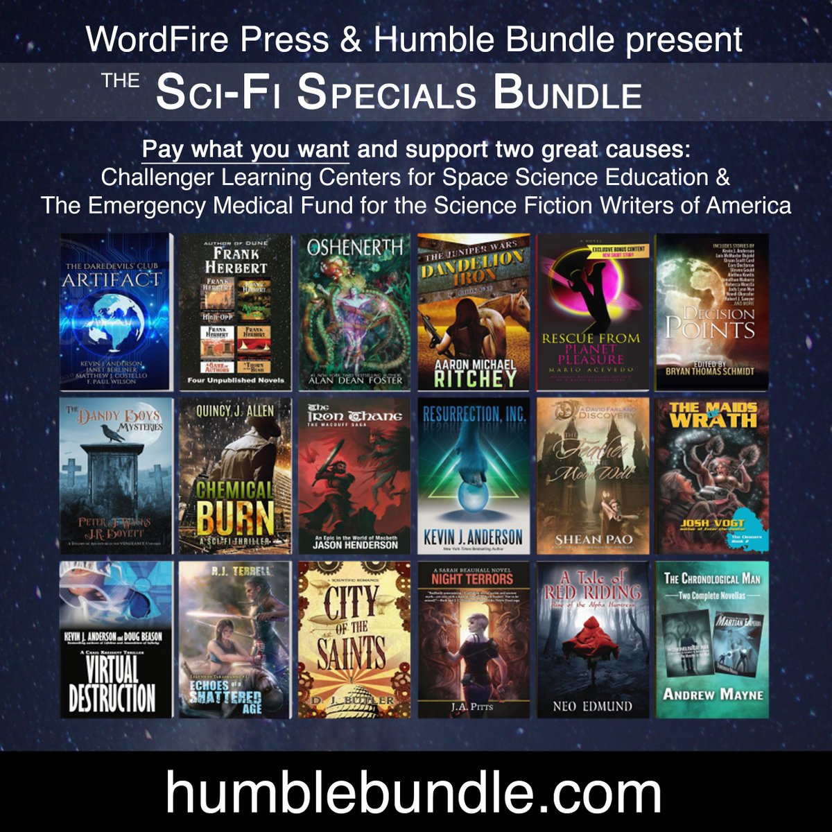 Miss it last night? new HumbleBundle https://t.co/6eyVUPay4J 1 of my books w/ my #WritingHeroes I'm a #WriterPuddle https://t.co/XKshCP2Oz7