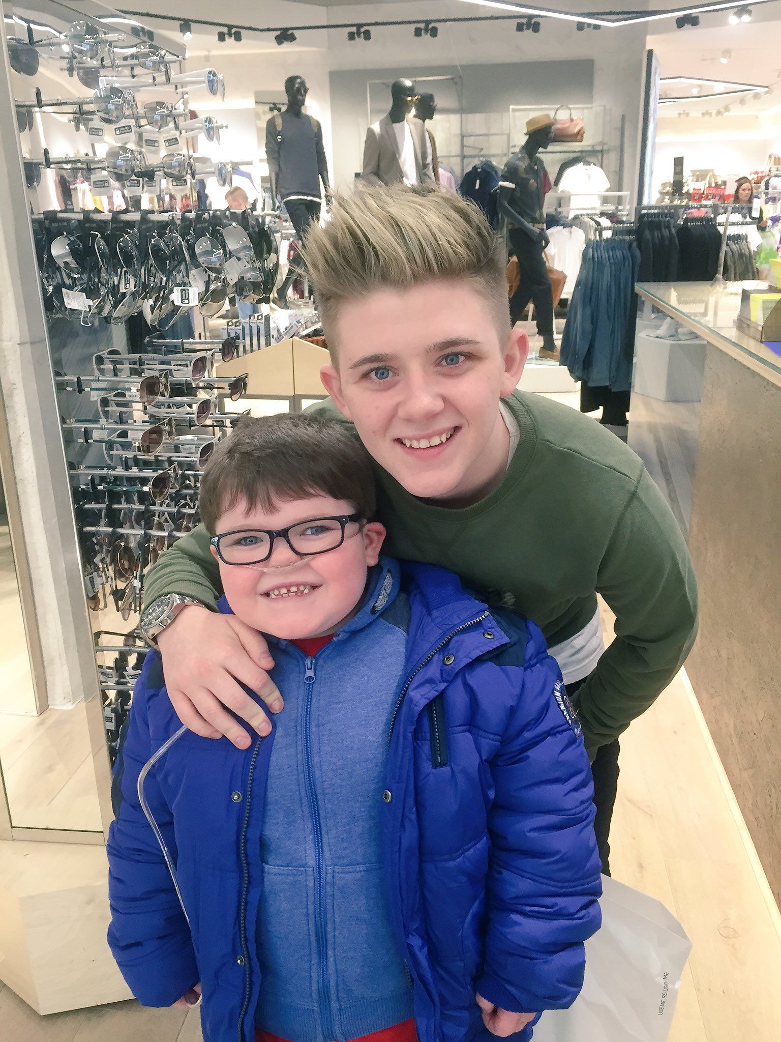 RT @gomadforrohhad: @nickymcdonald1 Aaron loved meeting u today and saying hi! He can't wait for your #GOMADJumpForROHHAD challenge 😀 TY ht…