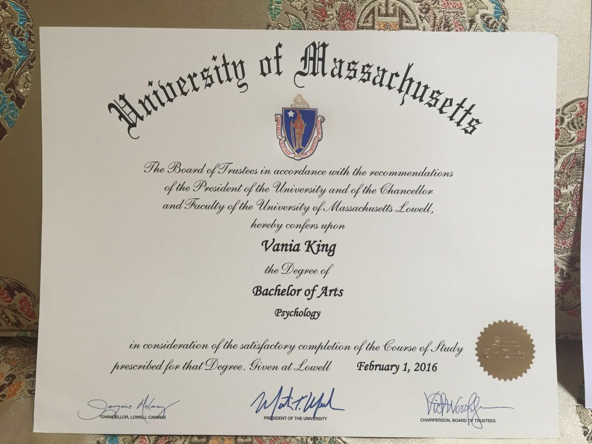 After months of waiting, my diploma finally arrived! Feels good to be a college graduate
