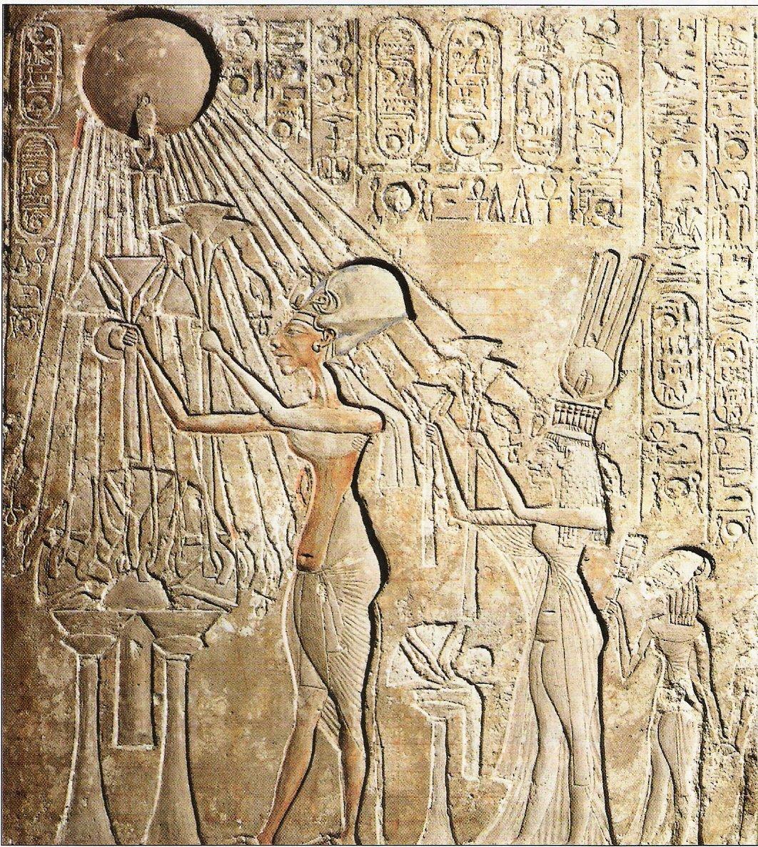 Il disco solare di Akhenaton.