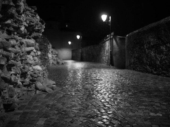 Davide Coletta On Twitter Aosta Notte Di Pioggia In Bianco