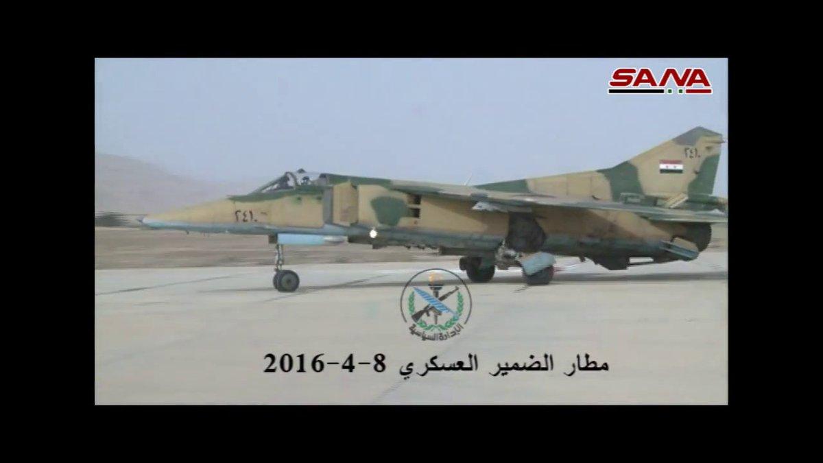 القوات الجويه السوريه .....دورها في الحرب القائمه  - صفحة 2 CfjZvXnW8AAeS4M
