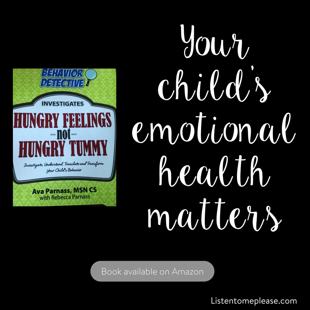 When Emotions R confused w hunger! Find the hidden messages in your cravings!