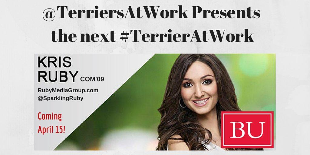 Thumbnail for #TerriersAtWork: Kris Ruby (COM'09), Ruby Media Group