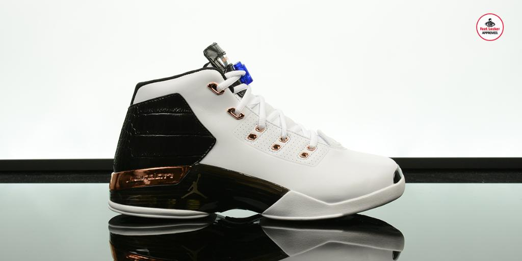 ee6bad484660 ... new style foot locker on twitter the air jordan 17 retro copper drops  online tomorrow at ...