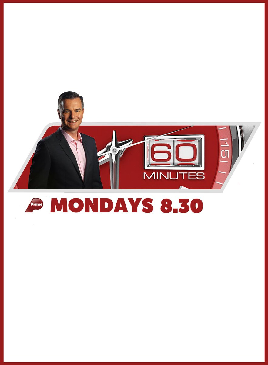 I'm very proud to be bringing you 60 Minutes this year on @Primetv_NZ https://t.co/sZyfCWyZsW