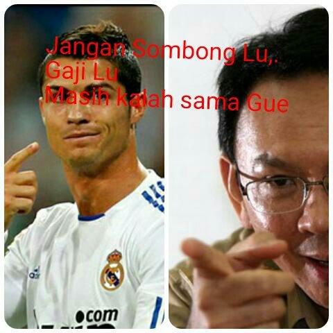 Luar Biasa Gaji Cristiano Ronaldo 2,1 M perhari Kalah dengan Pemborosan APBD DKI oleh Ahok