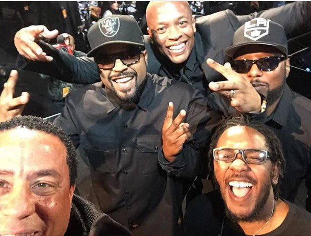 Congrats to our Ruthless Brothers NWA for receiving their Rock and Roll Hall of Fame Award in New York tonight!! https://t.co/c0qMatVBq3