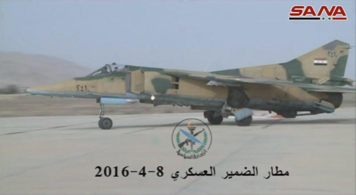 القوات الجويه السوريه .....دورها في الحرب القائمه  - صفحة 2 CflbMxzWQAI6eUE