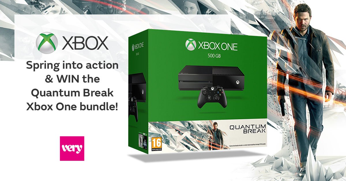 #RTTOWIN to be in with a chance of winning the new Quantum Break bundle with Very & @Xbox >> https://t.co/SsPlwHqWzw https://t.co/RK0gKI4A77
