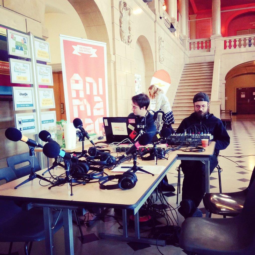 Derniers préparatifs pour fac'stories à la @ciup_fr le live dans 30 min https://t.co/lnqeyLFEaz avec @najatvb https://t.co/hRWRNBmZtt