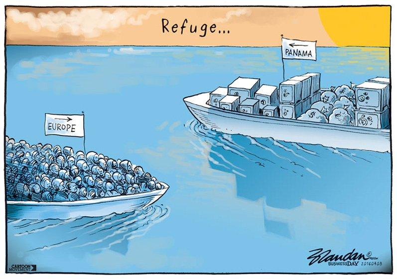 Different kinds of refuge... Excellent cartoon by Brandan Reynolds: https://t.co/5HquIufL5Z https://t.co/heykROIdwA