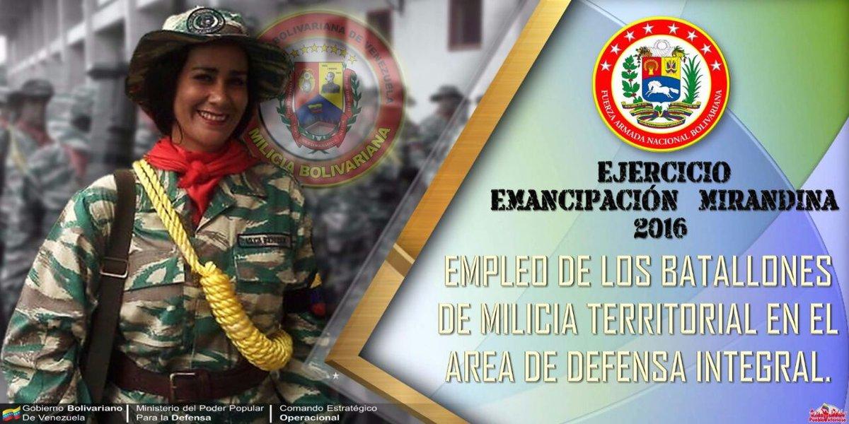 Noticias de la Milicia Bolivariana CfmneLHWsAE_2Lw