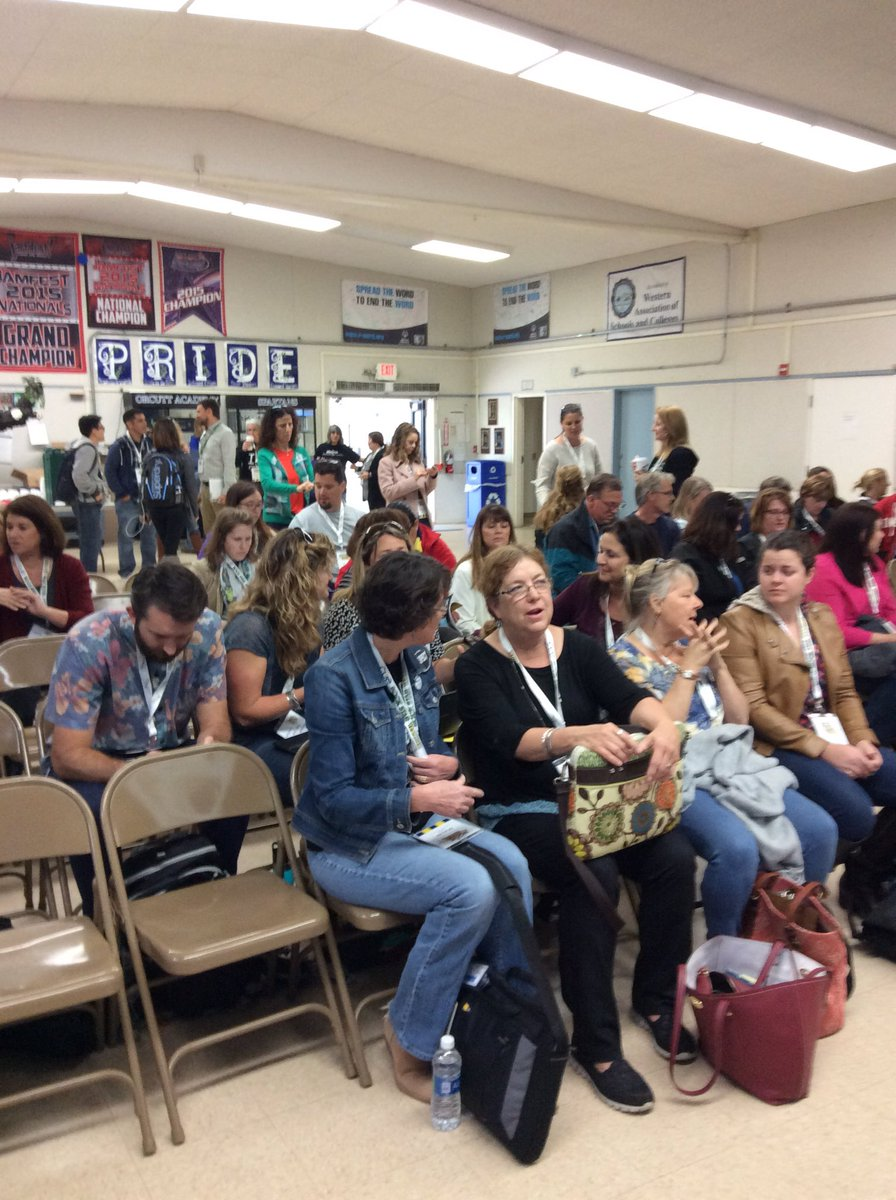Excitement building @CUERockStar #cuerockstar #steam #orcutt https://t.co/ecirZRaO26