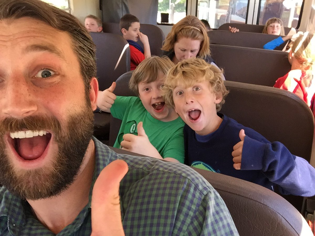 My kids are stoked their teacher is going to @CUERockStar today! #cuerockstar https://t.co/0rN74T3cjM