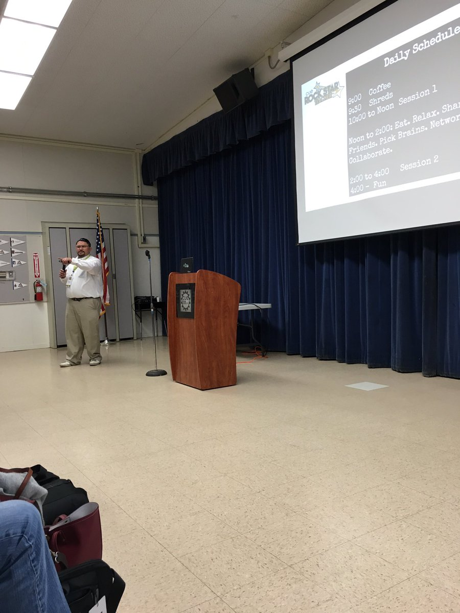 Kicking us off @edcampOSjr @CUERockStar #cuerockstar #steam #orcutt https://t.co/PWbQ3tmN5G