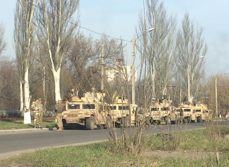 Российско-террористические войска применяют под Авдеевкой тактику изматывания, - начальник разведки 58-й бригады - Цензор.НЕТ 5374