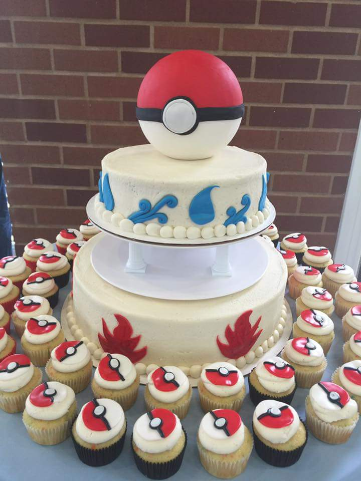 DessaV Route On Twitter The Wedding Cake Was Too OP Pokemon Pokeball Tco RPi2HN95lE