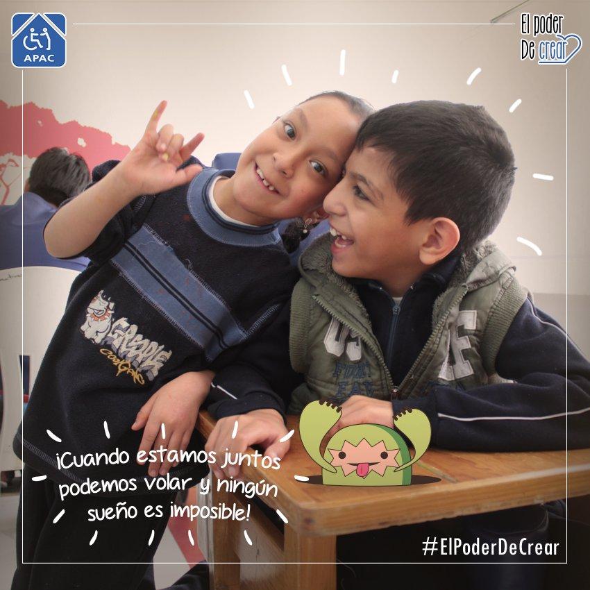 Estos niños necesitan de ti @apacdf tiene #ElPoderDeCrear con tu apoyo. ¡Ayúdanos a llegar! https://t.co/0rDoaUZCYv https://t.co/upFUztJD39
