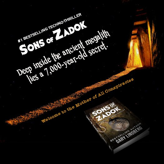 RT @LindbergAuthor: Explore SONS OF ZADOK. Bestselling thriller. ➡https://t.co/SFjujZpHUS https://t.co/Qi6ly6ukYJ #thriller #kindle
