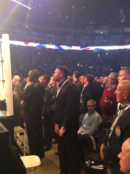 """Worst moment of #JoshuaMartin fight for Jose Mourinho was the traditional chant of """"Stand Up If You've Got A Job"""". https://t.co/dlvbAokPa8"""