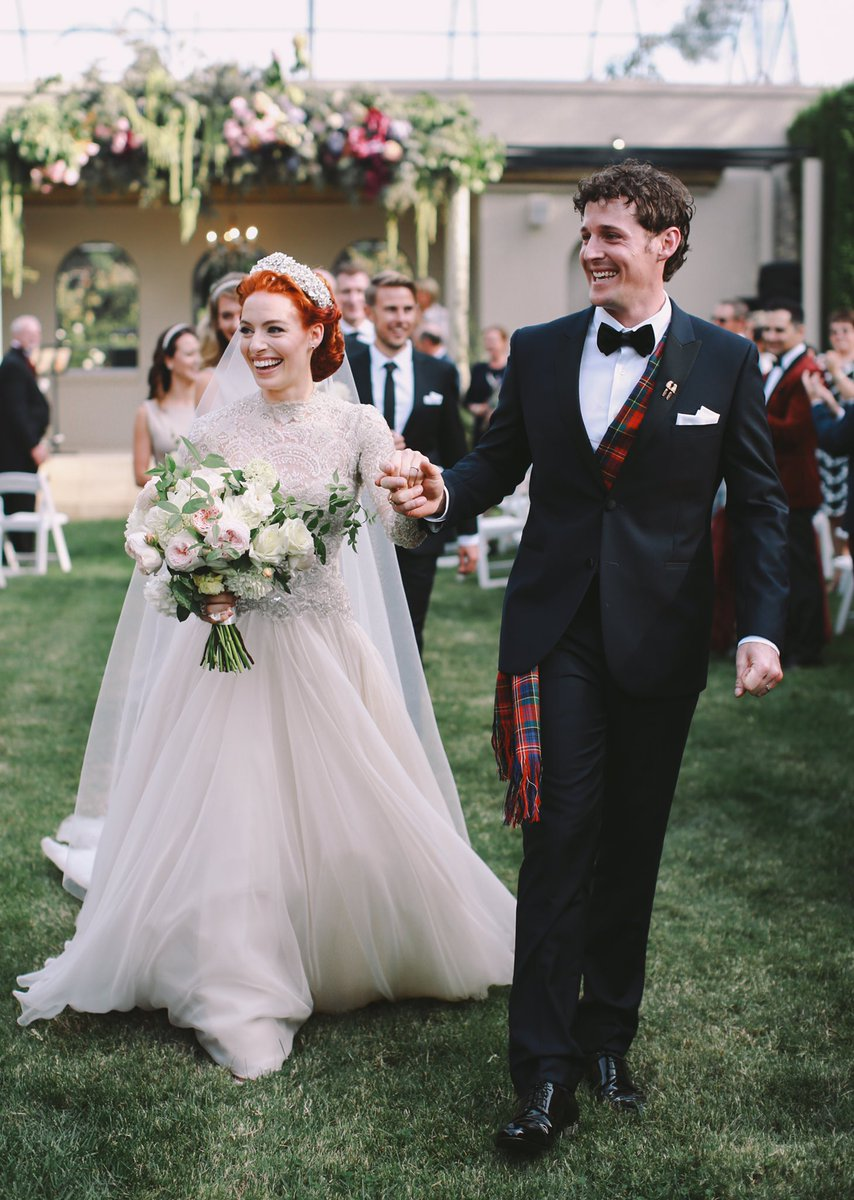 The Yellow Wiggle and Purple Wiggle just got married! 🚗