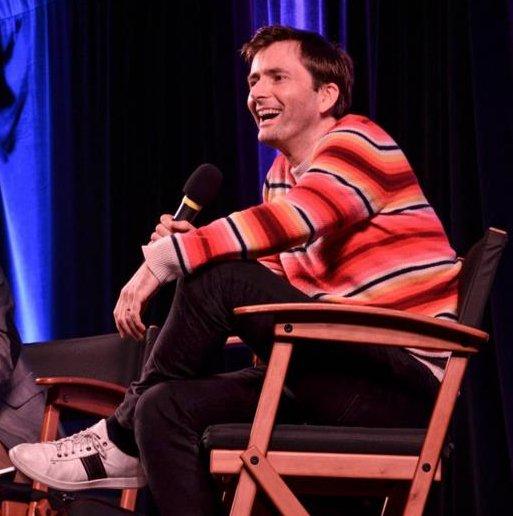 David Tennant at his panel at Wizard World Madison - Saturday 9th April 2016