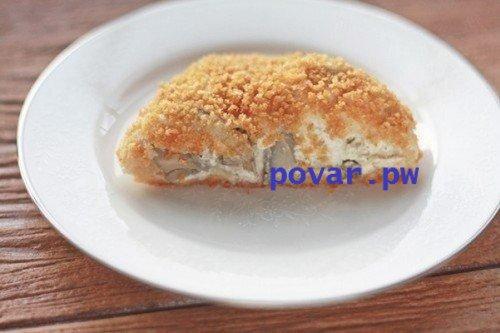 курица в слоеном тесте рецепт