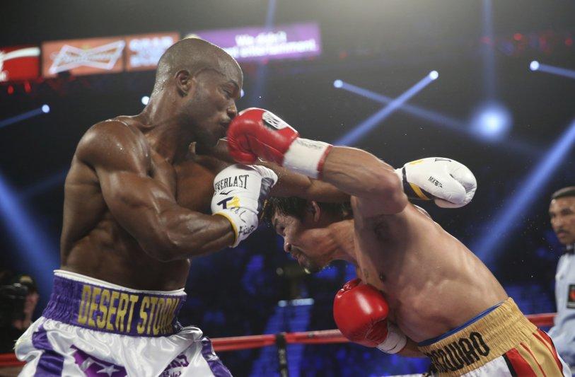 MANNY #PACQUIAO VS. TIMOTHY #BRADLEY III  #PacquiaoWINS  #PacBradley #boxing https://t.co/hkHbkTGV3C