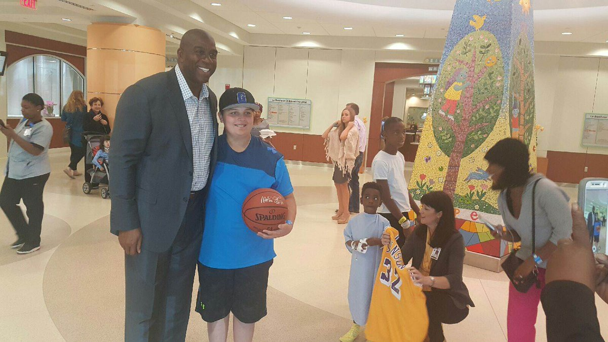 Earvin Magic Johnson On Twitter I Had A Great Time Touring The