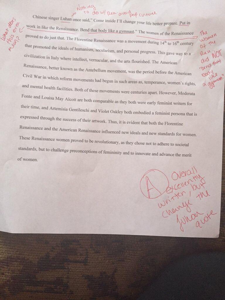 essay on time com a