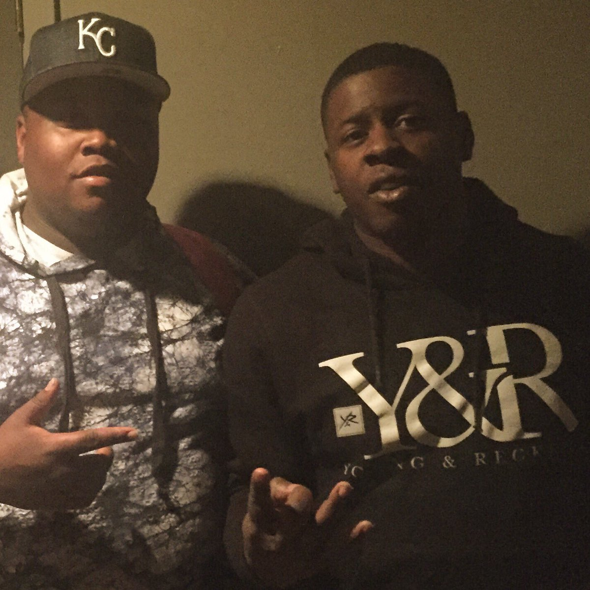 Salute the Homie @BlacYoungstaFB we in Charlotte working You one real dude