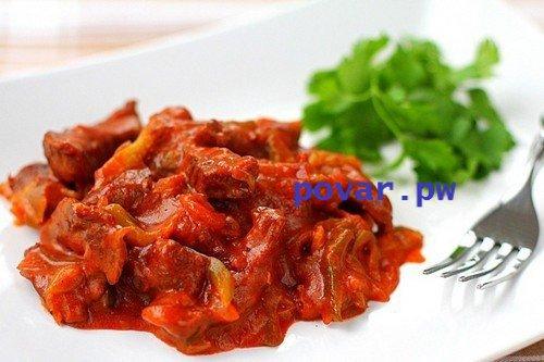 Азу из баранины рецепт