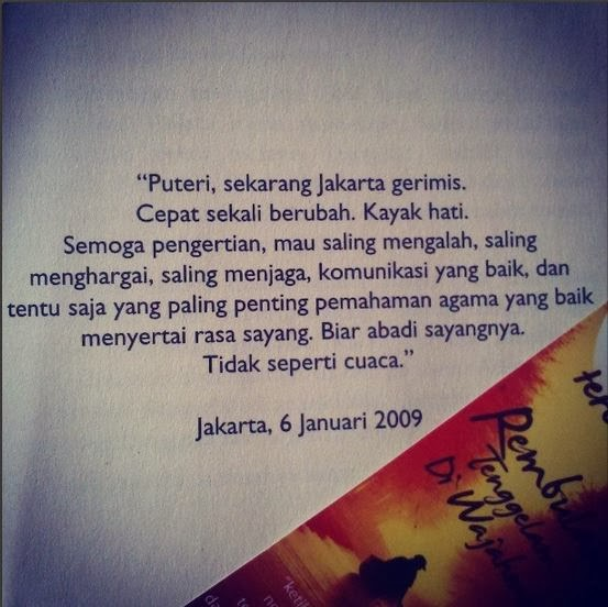 Quotes Tere Liye Rembulan Tenggelam Di Wajahmu 2