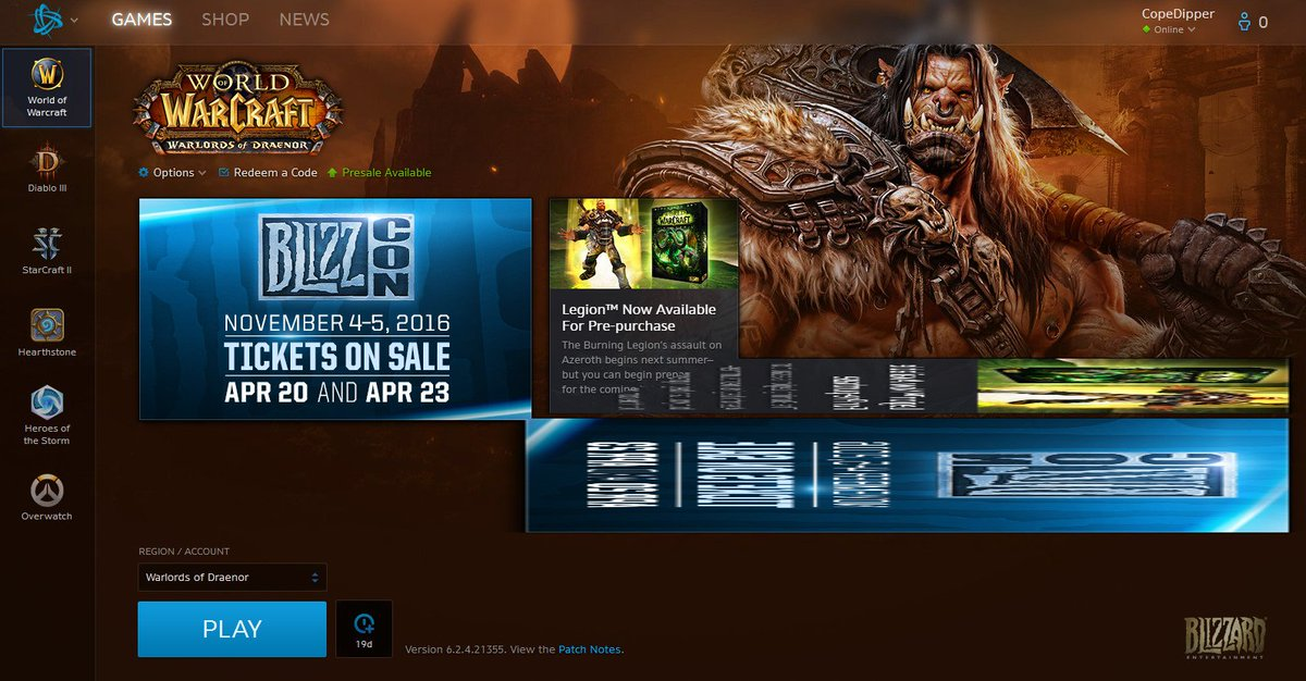 Blizzard CS - The Americas on Twitter: