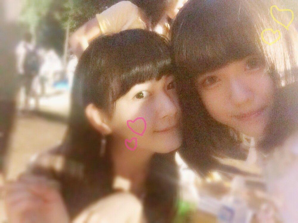 親友ひまちゃんと会ってきた(ノ)・ω・(ヾ)写真は3年前のお祭りの時。笑ひまが「親友と遊んだ!」的な事呟いてて「あ!よかった私のこと親友と思っててくれて!すき!