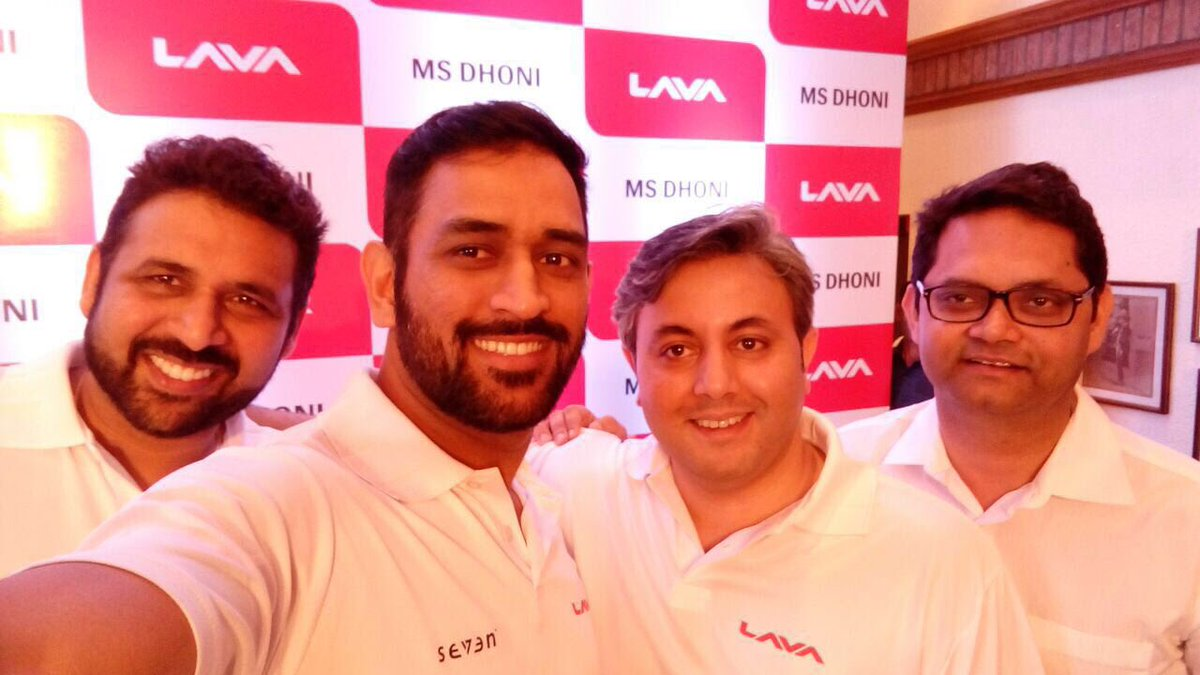 Proud to be associated with Lava,a truly reliable Indian brand.Pic clicked on my Lava phone. @lavamobile #MSD4Lava